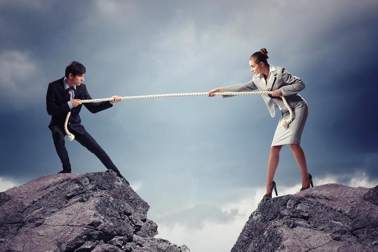 Rente-Mann-Frau in Studie: Weiter große Kluft zwischen Männer- und Frauenrenten