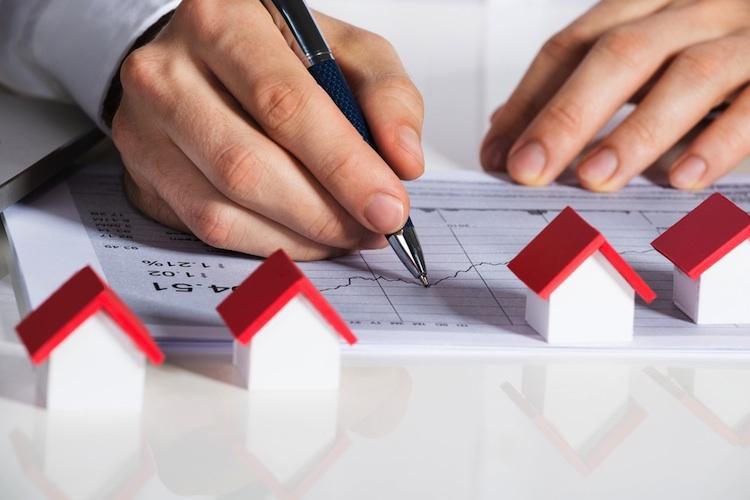 Haus-chart-shutt 370019465 in Immobilienpreise wachsen weiter, die Mieten mancherorts nicht mehr