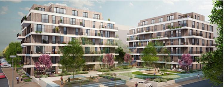 Treptower in Treptower Zwillinge mit klimaneutraler Bauweise