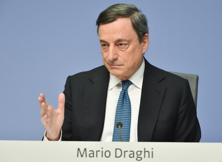 Draghi-1 in Draghi handelt vorhersehbar