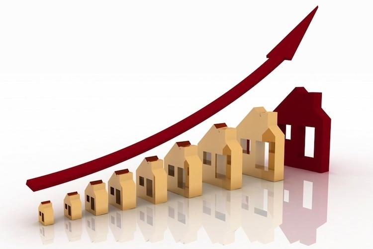 Chart-haeuser-shutt 292337759 in Preiswachstum bei Wohn- und Gewerbeimmobilien setzt sich fort