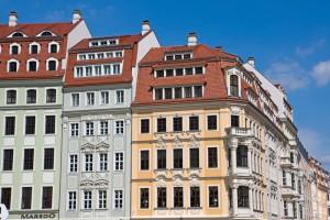 Beeindruckende Wohnhäuser in Dresden