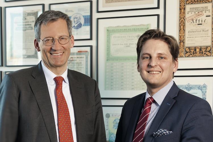 Martin von Hirschhausen und Sönke Niefünd, Otto M. Schröder Bank AG