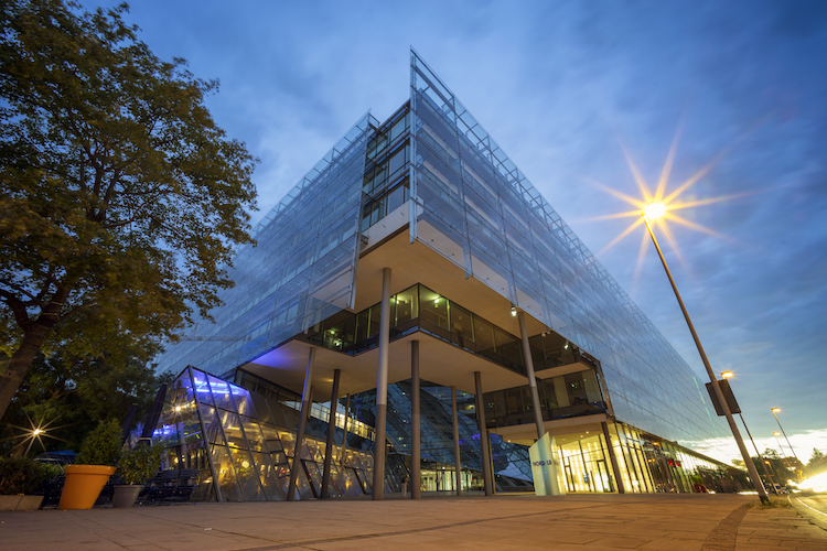 Verwaltungsgebäude der Nord/LB in Hannover.