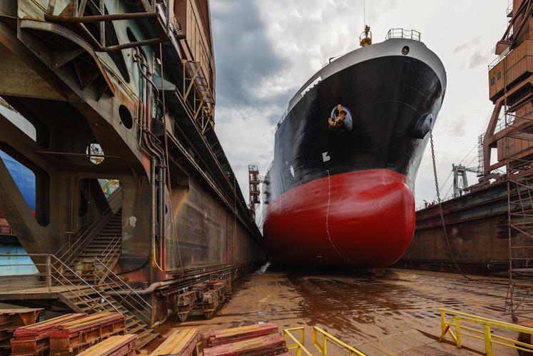 Shutterstock 116006956 in Europäische Werften bekommen mehr Aufträge als Asiaten