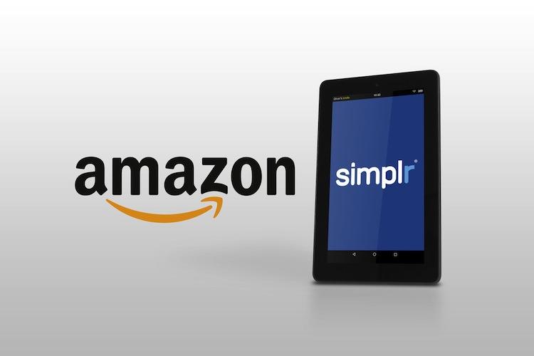 Blau direkt: Amazon nimmt Vertrieb von simplr auf