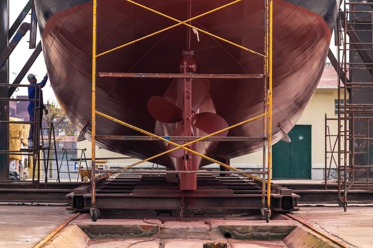 Mehr als die Hälfte aller Werften hat seit 2009 den Markt verlassen.