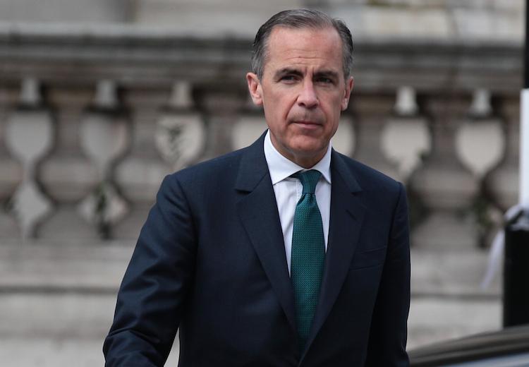 Carney in Britische Notenbank hebt Leitzinsen an