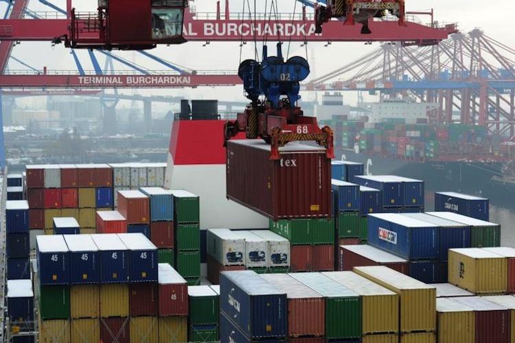 Geschäft mit EU-Ländern treibt deutschen Export an