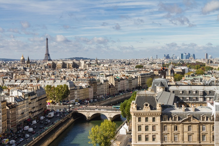 Finanzplatz-Paris in Europas beste Städte für Immobilien-Investments