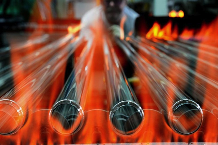 Deutsche Industrieproduktion schwächelt