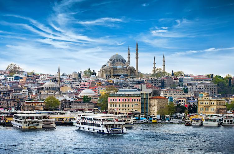 Am Finanzplatz Istanbul sind die Kursschwankungen derzeit groß.