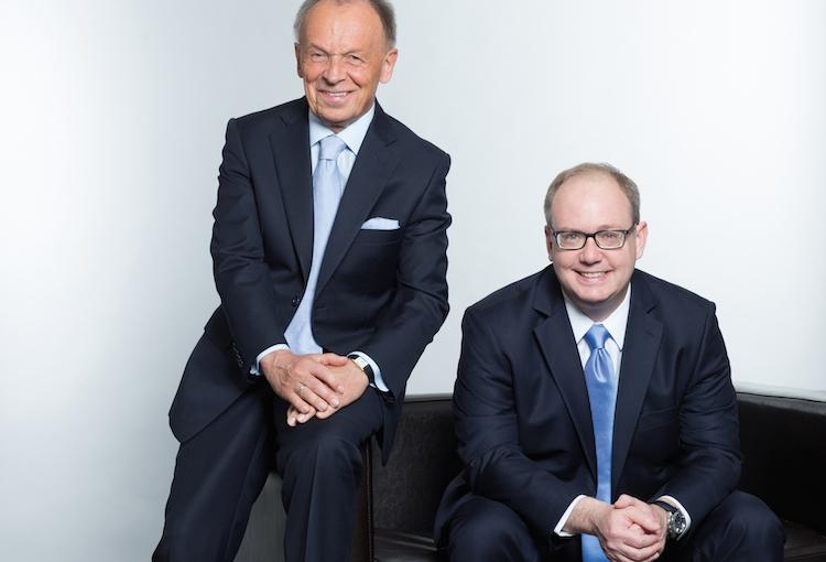 Führungswechsel: Friedrich Ganz (links) übergibt den Stab der Geschäftsführung der Artus Gruppe Ende des Jahres an Mike Ganz-Cosby.