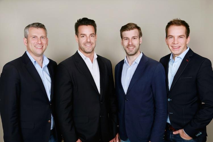 Exporo-Gruenderteam in Exporo überschreitet 500 Millionen-Euro-Schwelle