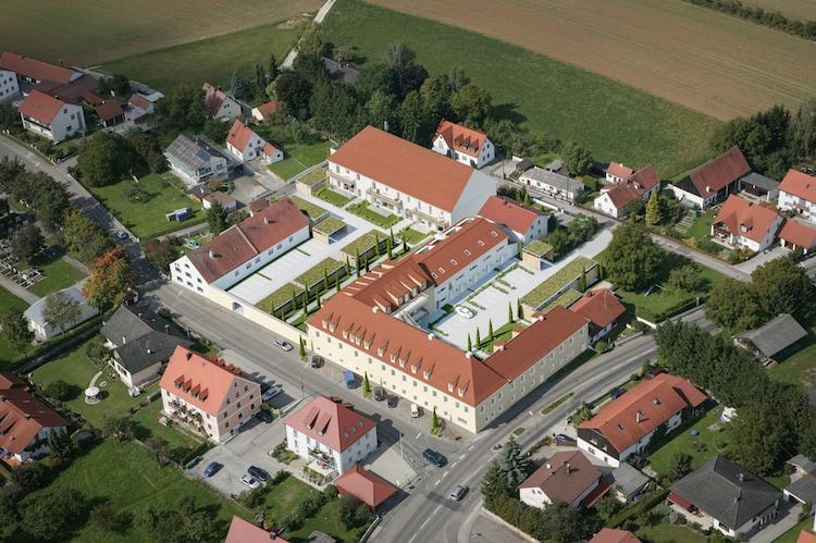 Visualisierung-Schlosscarre -Hepberg-Kopie in SGI ermöglicht Wohnen im Schlosscarrée Hepberg