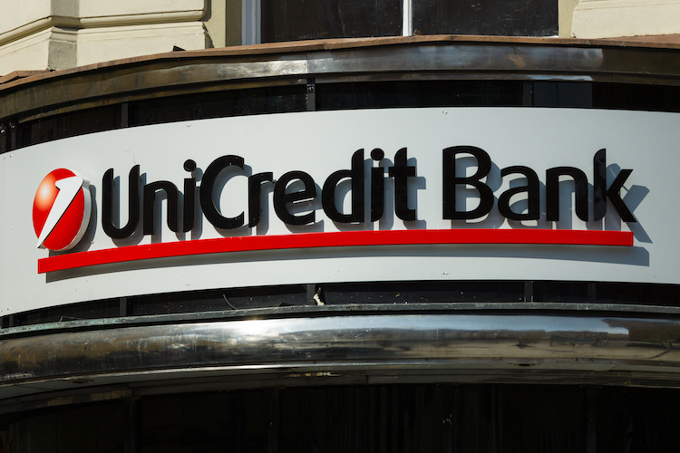 Kapitaldecke von Unicredit schrumpft