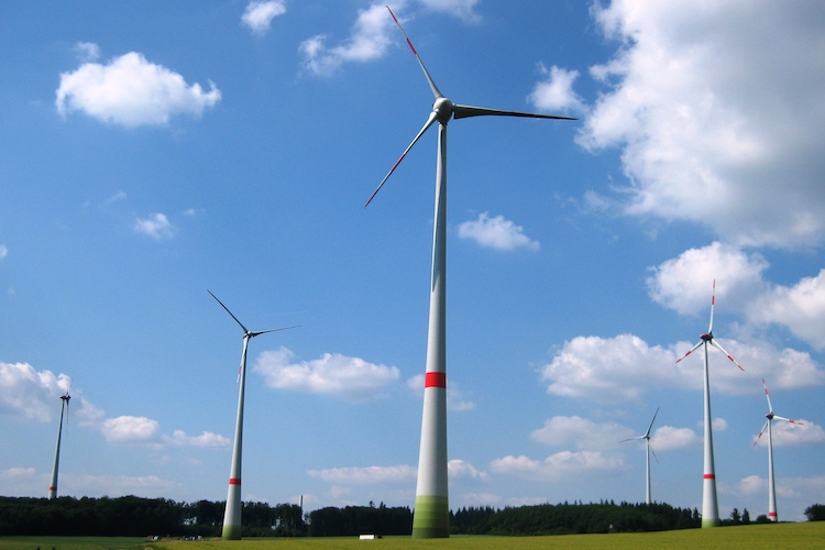 Chorus-Windpark in Kappel (Rheinland)