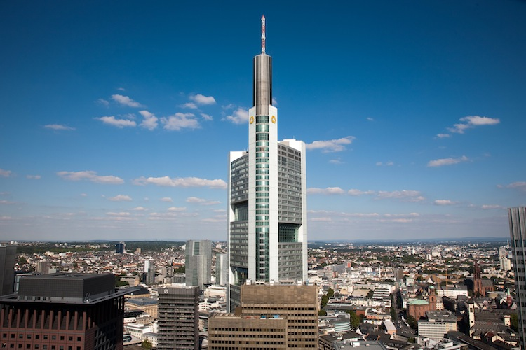 Commerzbank-Zentrale in Frankfurt am Main.