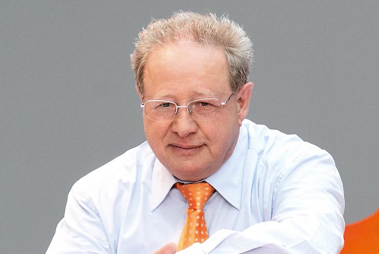Namensgeber und Vorstand der Hahn-Gruppe: Michael Hahn