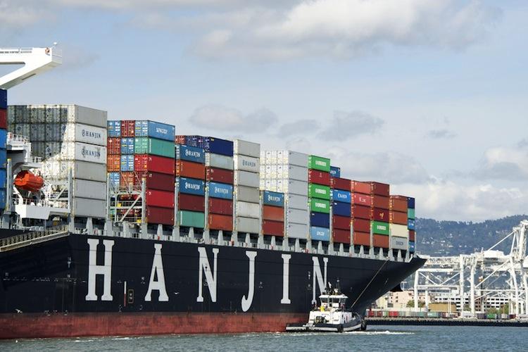 Hanjin-Gruppe hilft kriselnder Reederei-Tochter