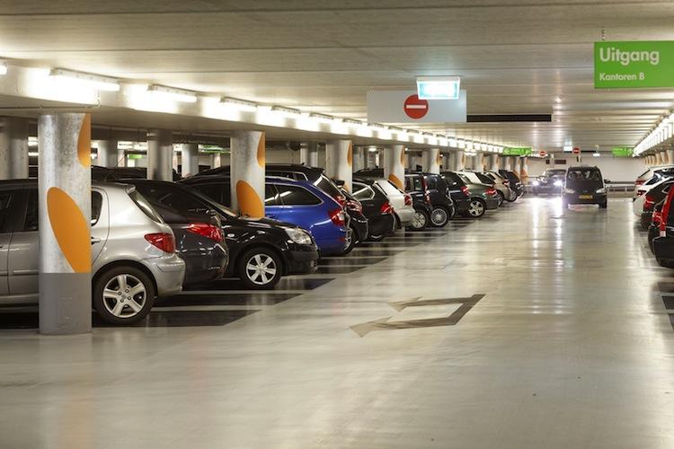 Investitionsobjekt von Bouwfonds: Parkhaus