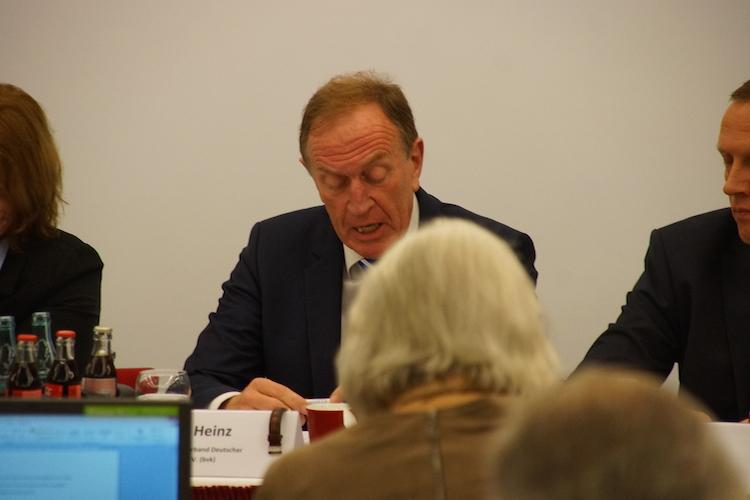 BVK-Präsident Michael H. Heinz