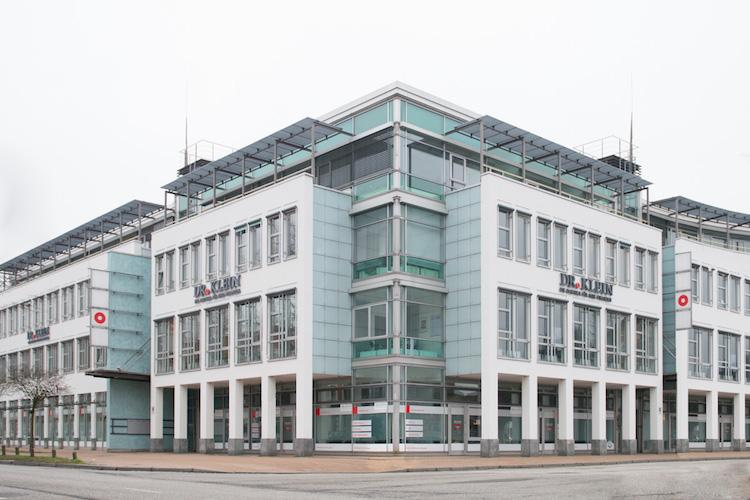 Standort von Dr. Klein in Lübeck. An Kunden des Unternehmens richtet sich der erste Fonds von Hypoport Invest