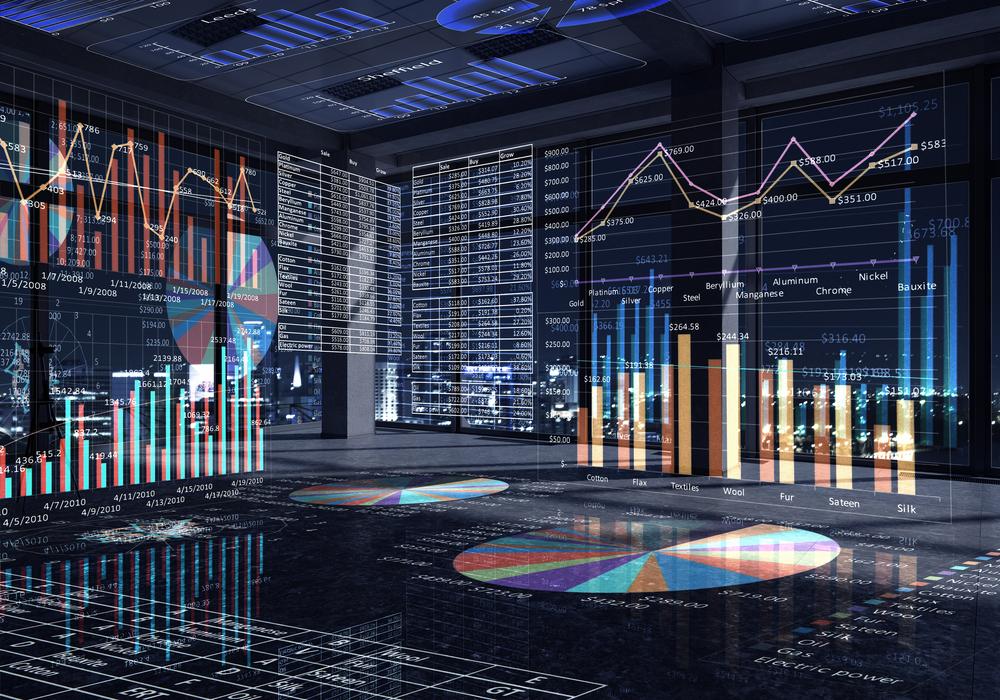 Graphen-und-Statistiken in Erholung der Kreditvergabe an Unternehmen verlangsamt