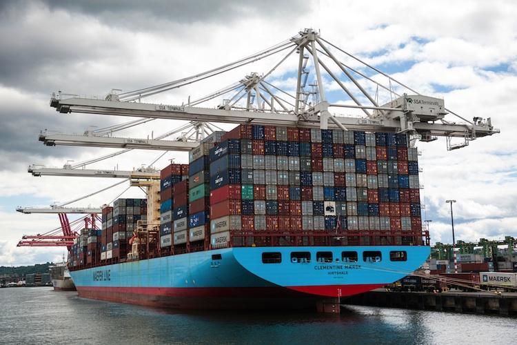 Møller-Maersk leidet unter niedrigen Frachtraten