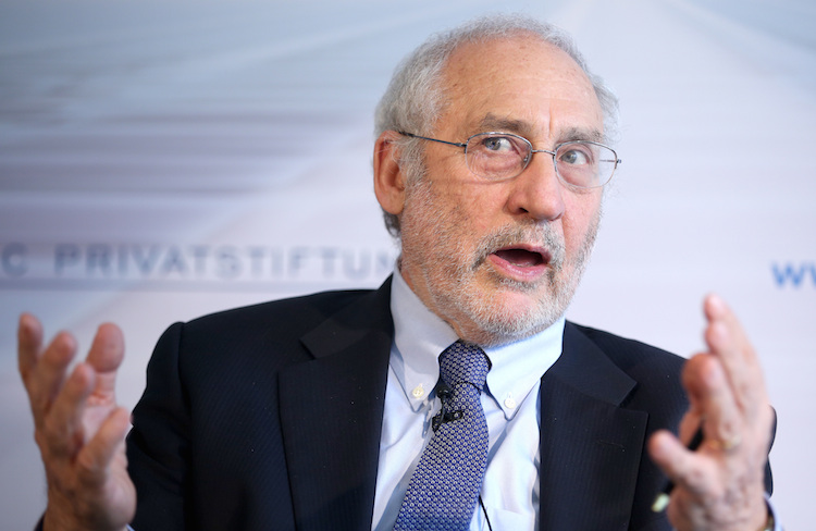 Stiglitz in Nobelpreisträger Stiglitz fordert Bitcoin-Verbot