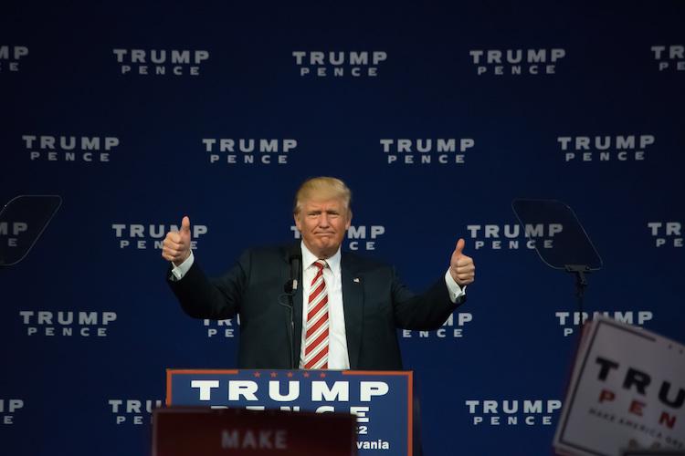 Donald Trump ist der 45. Präsident der USA.