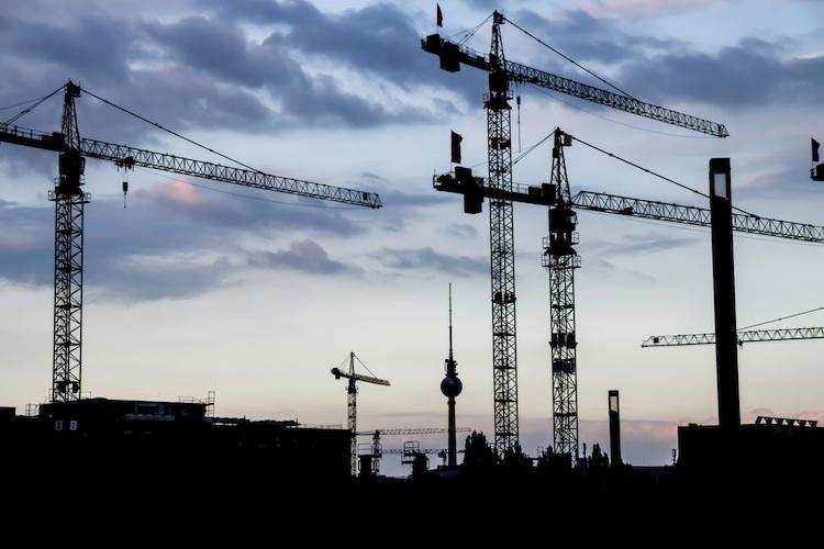 Der Bauboom unterstützt aktuell die deutsche Konjunktur.