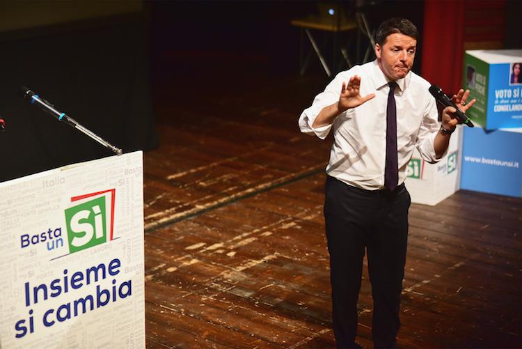 Italiens Premier Matteo Renzi kämpft um das Referendum und um sein politisches Überleben.