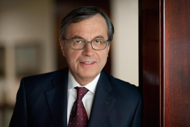 Dr. Ottmar Gast, Sprecher der Geschäftsführung von Hamburg Süd.