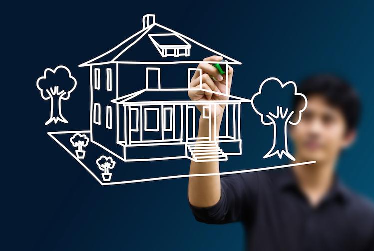 Traumimmobilie-haus-traum-shutterstock 85801657 in Immobilienkauf: Wege zur idealen Wohnform