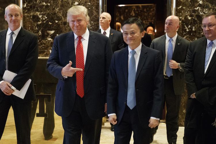 87100436 in Alibaba-Gründer stellt Trump eine Million US-Jobs in Aussicht