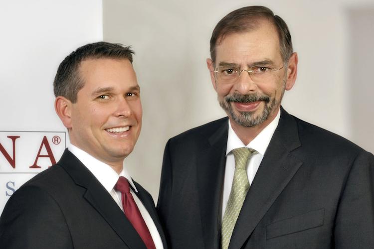 Geschäftsführende Gesellschafter von Habona: Johannes Palla (links) und Roland Reimuth