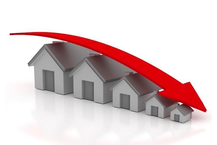 Haus-chart-shutt 283278941 in Preiseinbruch am Wohnimmobilienmarkt? Researchinstitute uneins