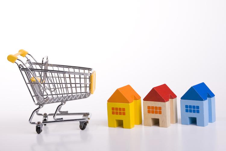 Haus-wohnung-einkauf-einkaufswagen-shutterstock 13265398 in Investitionen in Immobilien: Die globalen Trends