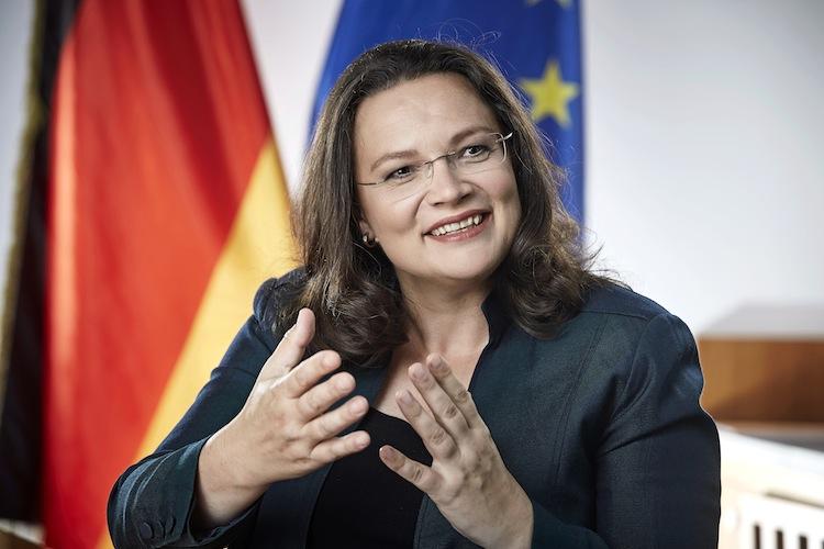 Die Werte entsprechen den bisherigen Angaben von Sozialministerin Andrea Nahles (SPD).