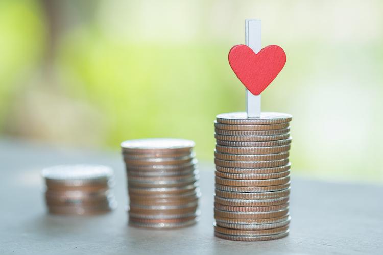 Unverheiratete Paare sparen