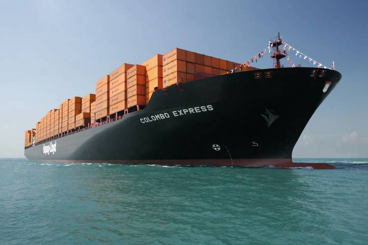 """Containerfrachter """"Colombo Express"""""""