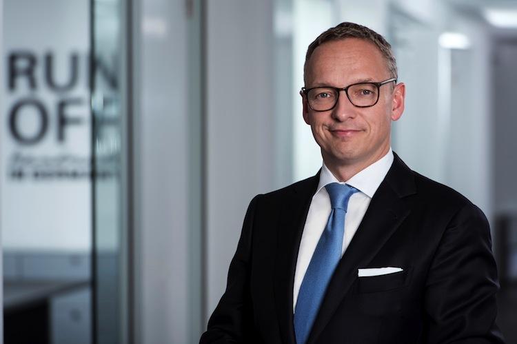 Arndt Gossmann, Vorstandschef der Darag