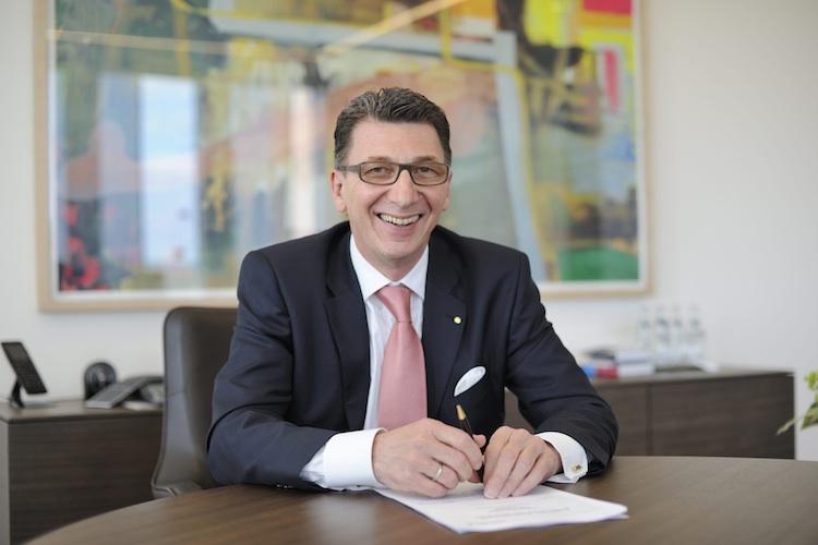 Ulrich Leitermann, Vorstandsvorsitzender der Signal Iduna Gruppe