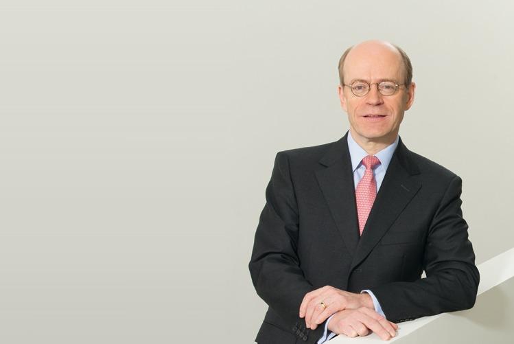 Nikolaus-von-Bomhard in Munich Re will trotz Gewinneinbruch mehr Dividende zahlen