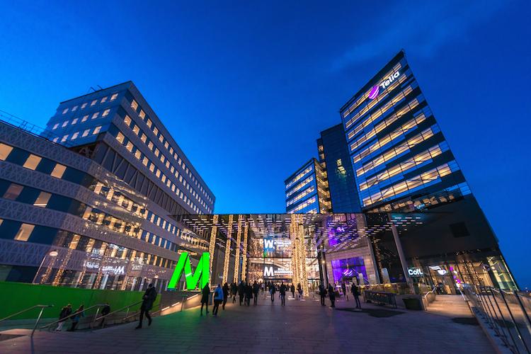 Mall of Scandinavia in Stockholm: Die Hauptstadt Schwedens ist bei Immobilieninvestoren aufgrund ihrer wirtschaftlichen Kennzahlen besonders nachgefragt.
