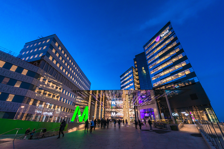Stockholm in Stockholm ist Shoppingcenter-Hotspot für Immobilieninvestoren