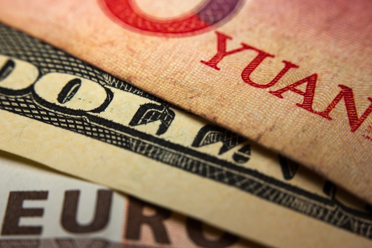 Yuan-China-Devisen in Chinas Notenbank lockert Geldpolitik