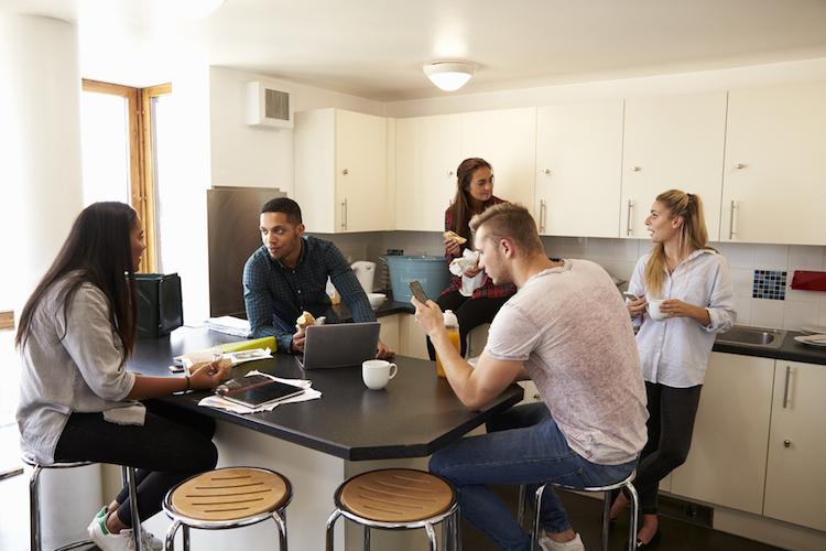 Studentenwohnungen: WGs bis zu einem Drittel günstiger