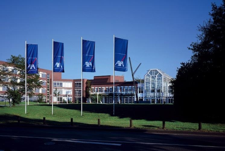 Hauptverwaltung-1 in Axa meldet Wachstum